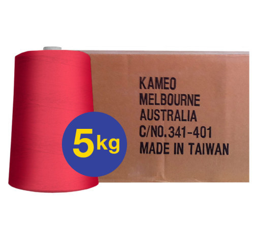 Larger Cones (8ply) - Red<br>BY THE BOX - 5kg Cones x 6 per box